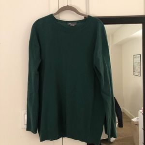 Green Vince Cashmere Sweater